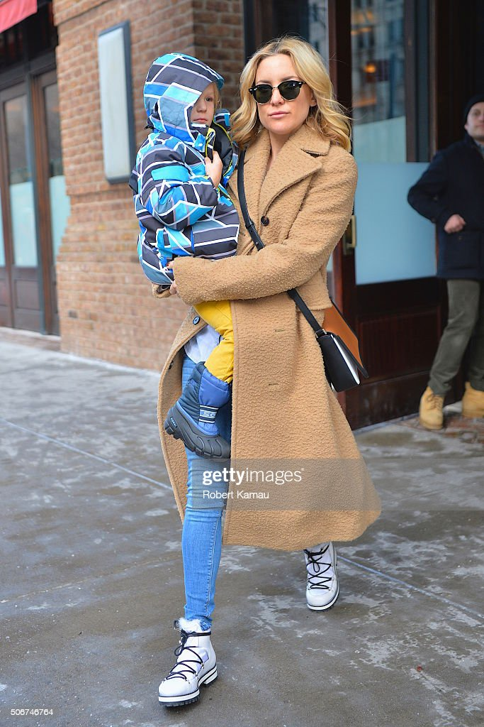 Celebrity Sightings in New York City - January 25, 2016