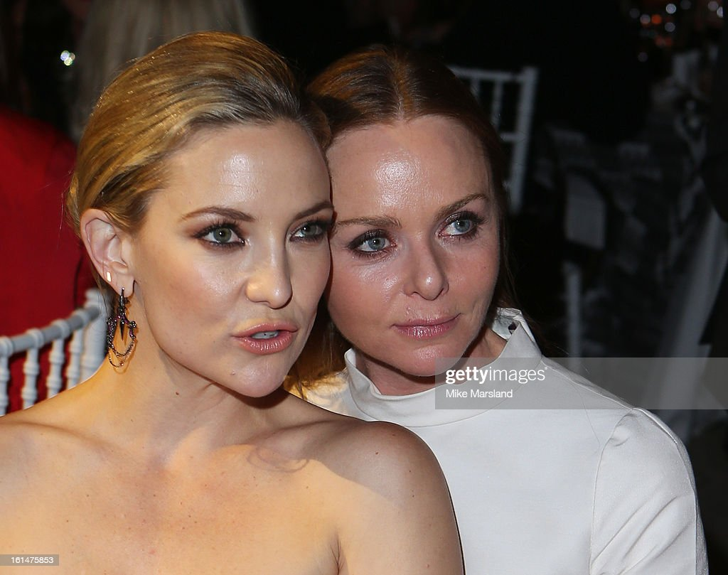 Kate Hudson and Stella McCartney attend the Elle Style Awards at The Savoy Hotel on February 11, 2013 in London, England.