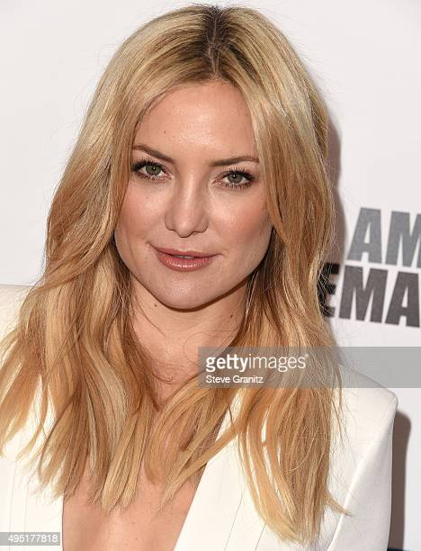 Kate Hudson arrives at the 29th American Cinematheque Award Honoring Reese Witherspoon at the Hyatt Regency Century Plaza on October 30 2015 in Los...
