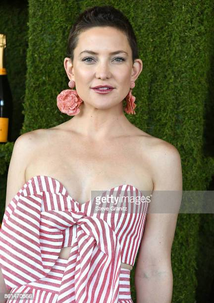 Kate Hudson arrives at the 8th Annual Veuve Clicquot Polo Classic at Will Rogers State Historic Park on October 14 2017 in Pacific Palisades...