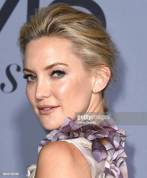 Kate Hudson arrives at the InStyle Awards at Getty Center on October 26 2015 in Los Angeles California