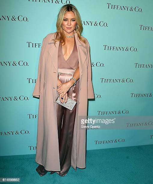 Kate Hudson arrives at the Tiffany And Co Celebrates Unveiling Of Renovated Beverly Hills Store at Tiffany Co on October 13 2016 in Beverly Hills...