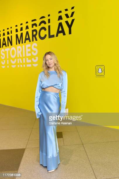 Kate Hudson at the U.S. Premiere of Christian Marclay: Sound Stories, an immersive audiovisual exhibition fusing art and technology, presented by...