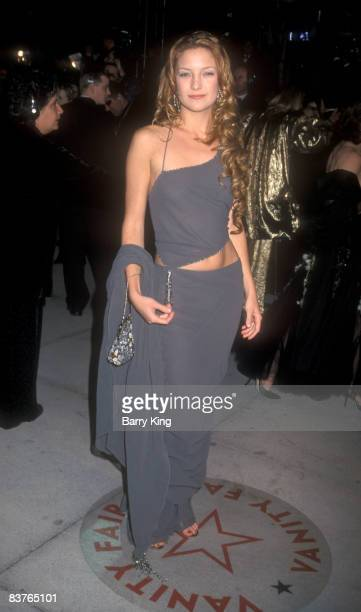 Kate Hudson at the Vanity Fair Oscar Party at Mortons Restaurant in West Hollywood, California on March 26, 2000.
