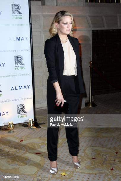 Kate Hudson attend THE ALMAY CONCERT to Celebrate the RAINFOREST FUND'S 21st Birthday at The Plaza Hotel on May 13th 2010 in New York City