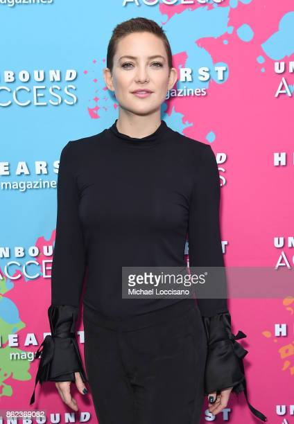 Kate Hudson attends Hearst Magazines' Unbound Access MagFront at Hearst Tower on October 17 2017 in New York City