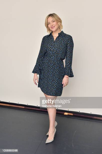 Kate Hudson attends In Conversation with Michael Kors Kate Hudson and The World Food Programme at UCLA on November 7 2018 in Los Angeles California