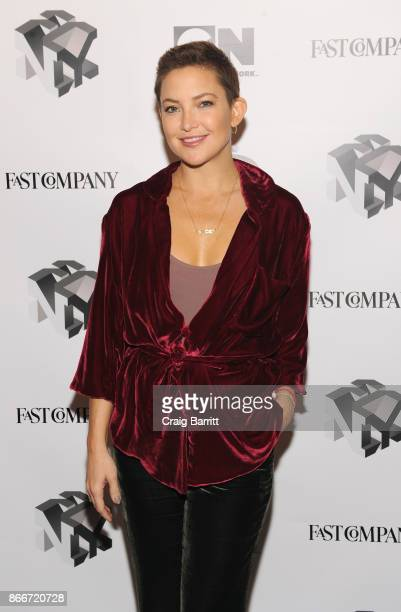 Kate Hudson attends Listen To Your Customers Lessons From Fabletics' Kate Hudson and Walmartcom's Marc Lore during Fast Company Innovation Festival...