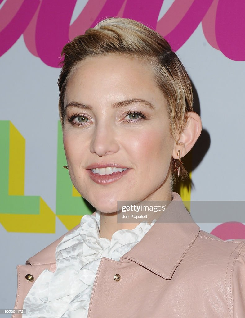 Kate Hudson attends Stella McCartney's Autumn 2018 Collection Launch on January 16, 2018 in Los Angeles, California.