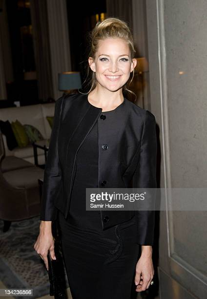 Kate Hudson attends the after party for the Royal film performance of Hugo in 3D at the Corinthia Hotel on November 28 2011 in London United Kingdom