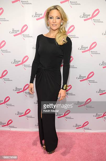 Kate Hudson attends the Breast Cancer Foundation's Hot Pink Party at the Waldorf Astoria Hotel on April 17 2013 in New York City