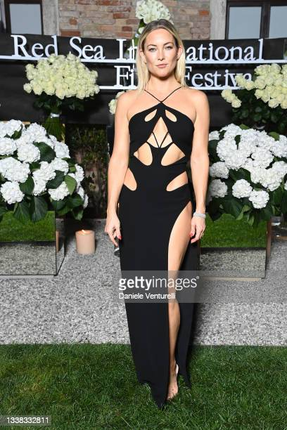 Kate Hudson attends the Celebration of Women in Cinema Gala hosted by The Red Sea Film Festival during the 78th Venice International Film Festival on...