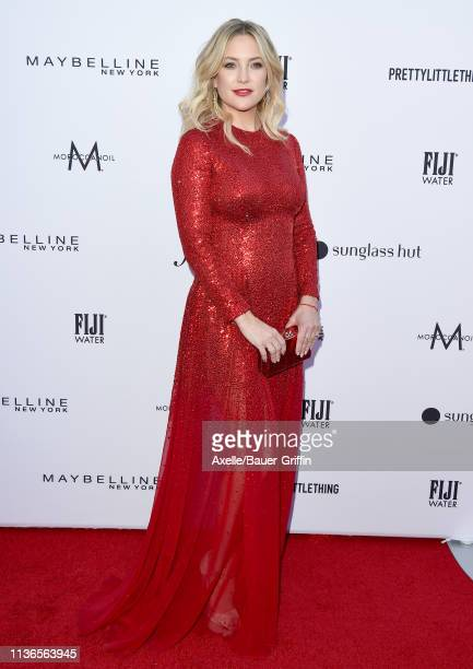 Kate Hudson attends The Daily Front Row's 5th Annual Fashion Los Angeles Awards at Beverly Hills Hotel on March 17, 2019 in Beverly Hills, California.