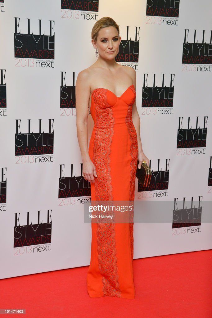 Kate Hudson attends the Elle Style Awards 2013 on February 11, 2013 in London, England.
