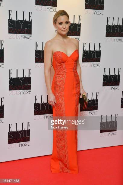 Kate Hudson attends the Elle Style Awards 2013 on February 11 2013 in London England