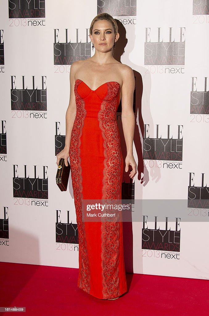 Kate Hudson attends the Elle Style Awards on February 11, 2013 in London, England.