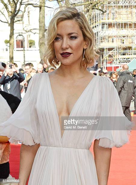 Kate Hudson Attends The European Premiere Of Kung Fu Panda 3 At Odeon Leicester