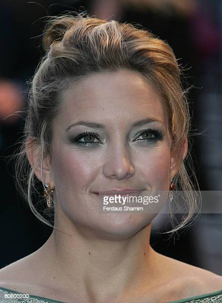 Kate Hudson attends the Fool's Gold film premiere held at the Vue West End in Leicester Square on April 10 2008 in London England