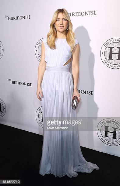 Kate Hudson attends The Harmonist Cocktail Party during The 69th Annual Cannes Film Festival at Plage du Grand Hyatt on May 16 2016 in Cannes