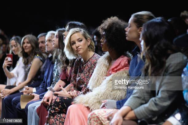 Kate Hudson attends the Michael Kors Collection Fall 2019 Runway Show at Cipriani Wall Street on February 13 2019 in New York City