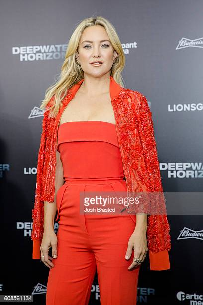 Kate Hudson attends the New Orleans premiere of 'Deepwater Horizon' at The Orpheum Theatre on September 19 2016 in New Orleans Louisiana