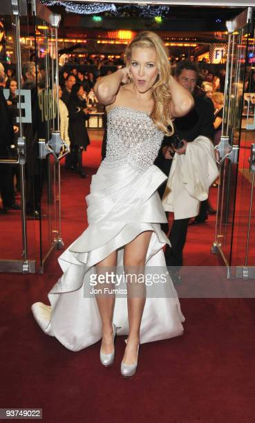 Kate Hudson attends the Nine world film premiere at the Odeon Leicester Square on December 3 2009 in London England