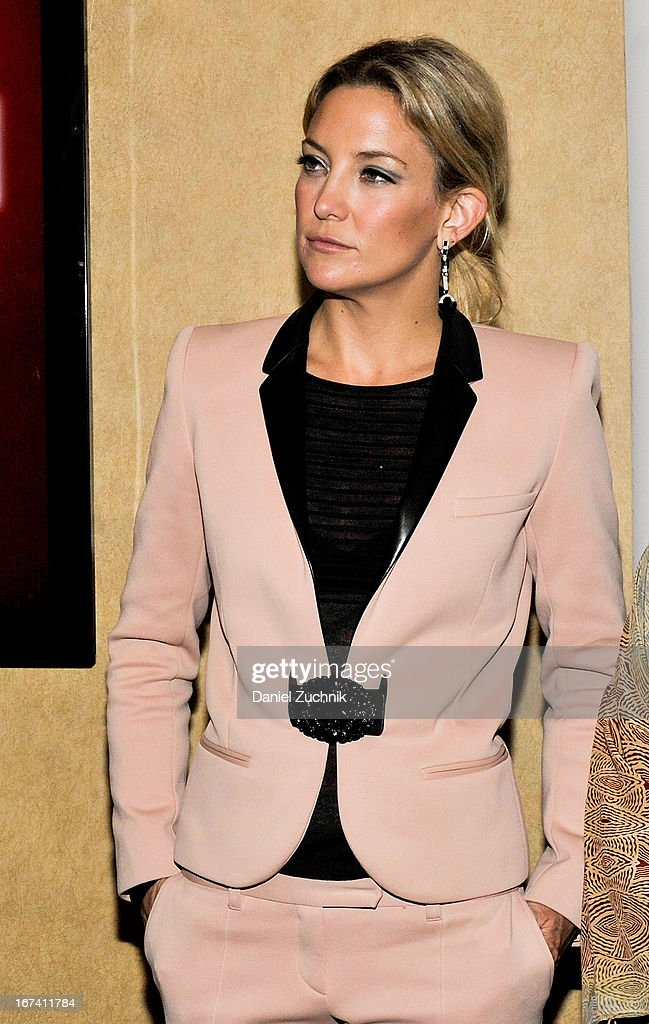 Kate Hudson attends the Q&A following 'The Reluctant Fundamentalist' screening during the 2013 New York Indian Film Festival at Big Cinemas Manhattan on April 24, 2013 in New York City.