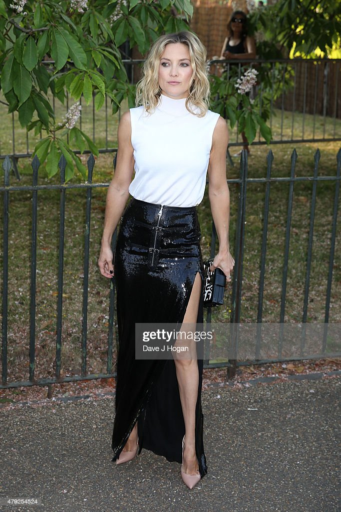 Kate Hudson attends The Serpentine Gallery Summer Party at The Serpentine Gallery on July 2, 2015 in London, England.
