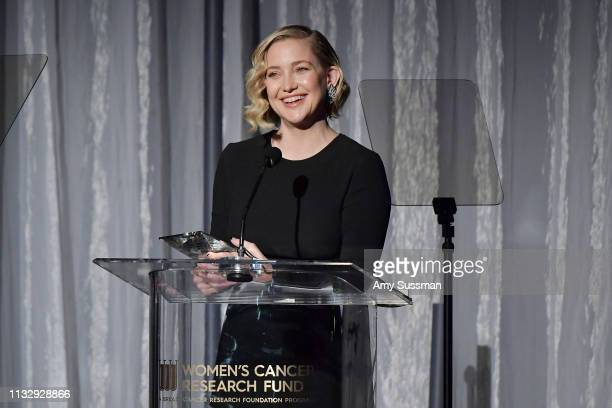 Kate Hudson attends The Women's Cancer Research Fund's An Unforgettable Evening Benefit at the Beverly Wilshire Four Seasons Hotel on February 28...