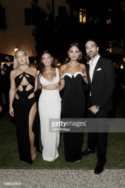 Kate Hudson, Demi Moore, Eiza González and Mohammed Al Turki attend the Celebration of Women in Cinema Gala hosted by The Red Sea Film Festival...