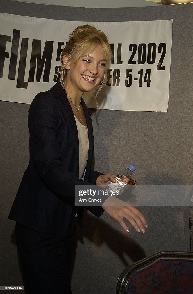 Kate Hudson during 2002 Toronto Film Festival - 'The Four Feathers' Press Conference in Toronto, Ontario, Canada.