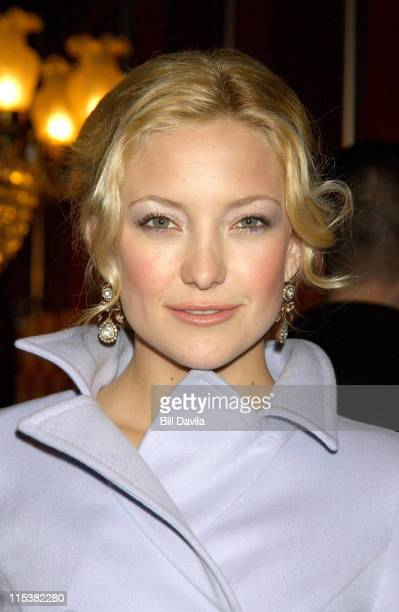Kate Hudson during How To Lose A Guy In Ten Days New York Screening at Ziegfeld Theater in New York New York United States