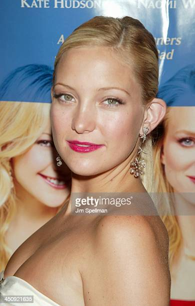 Kate Hudson during Le Divorce New York Premiere Outside Arrivals at The Paris Theater in New York City New York United States
