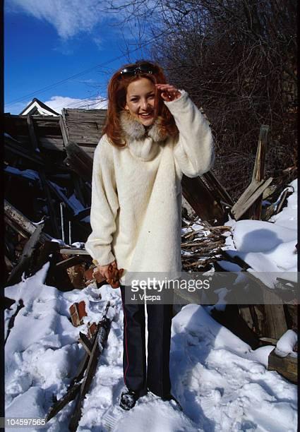 Kate Hudson during Sundance Film Festival 2000 in Park City Utah United States
