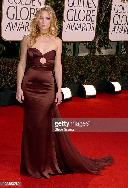 Kate Hudson during The 62nd Annual Golden Globe Awards Arrivals at Beverly Hilton Hotel in Los Angeles California United States