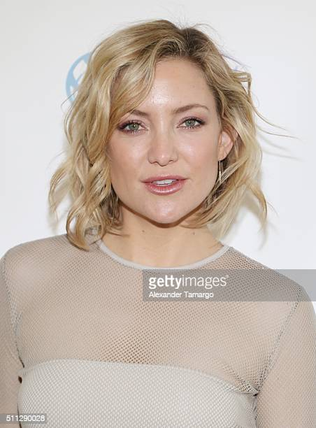 Kate Hudson is seen at the 14th Annual International Business Woman of the Year Awards at The Rusty Pelican on February 19 2016 in Key Biscayne...