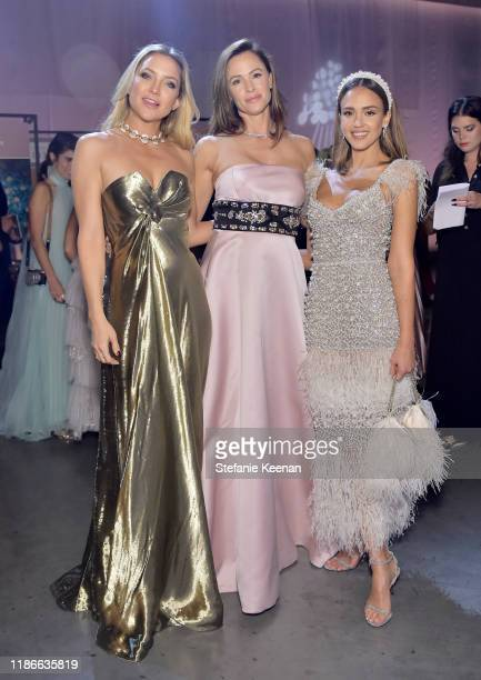 Kate Hudson Jennifer Garner and Jessica Alba attend the 2019 Baby2Baby Gala presented by Paul Mitchell on November 09 2019 in Los Angeles California