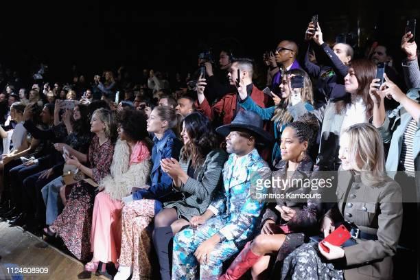 Kate Hudson Kerry Washington Doutzen Kroes Priyanka Chopra Billy Porter Regina King and Olivia Wilde attend the Michael Kors Collection Fall 2019...