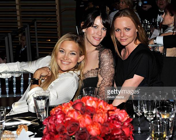 Kate Hudson Liv Tyler and Stella McCartney attends the Time's 100 Most Influential People in the World Gala at Rose Hall Jazz at Lincoln Center on...
