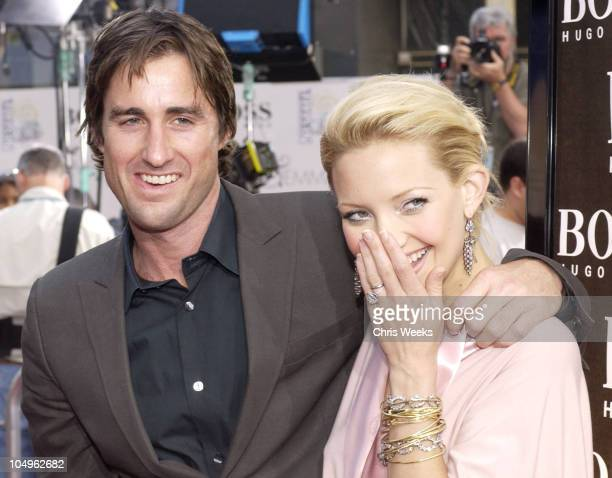 Kate Hudson Luke Wilson during Premiere of 'Alex Emma' at Grauman's Chinese Theater in Hollywood California United States
