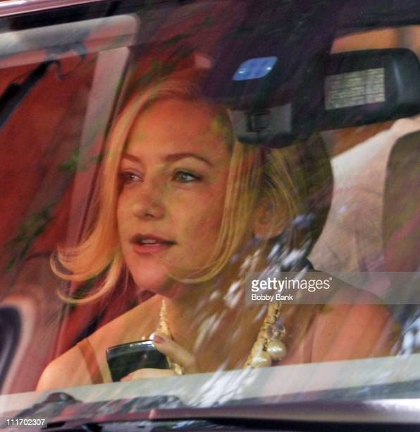 Kate Hudson on location for 'Something Borrowed' on the streets of Manhattan on June 2 2010 in New York City