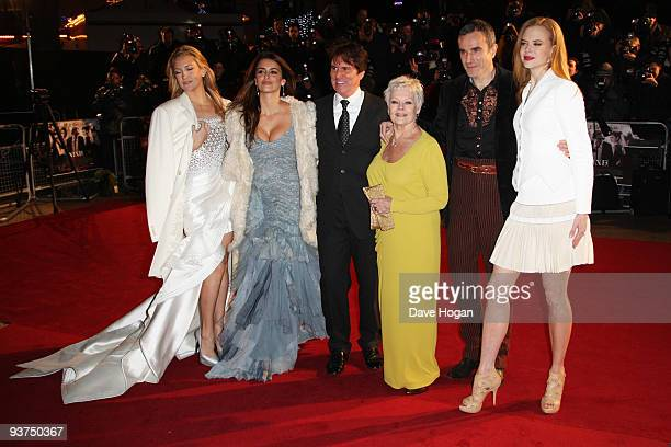 Kate Hudson Penelope Cruz Rob Marshall Judi Dench Daniel Day Lewis and Nicole Kidman attend the world premiere of Nine held at the Odeon Leicester...