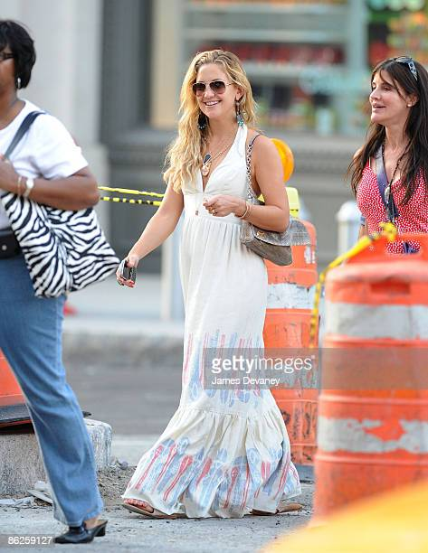 Kate Hudson seen on the streets of Manhattan on April 26 2009 in New York City