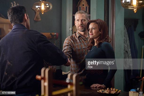 """Kate introduces Harold to Ethan in the """"Don't Discuss Your Life Before"""" episode of WAYWARD PINES airing Thursday, May 21, 2015 on FOX."""