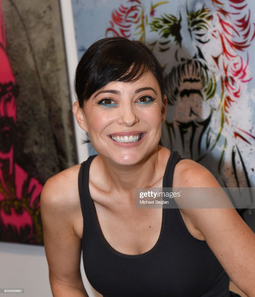 Kate Kelton arrives at Val Kilmer's Pop-Up Art Exhibition - 'Icon Go On, I'll Go On' VIP Opening Reception at The Gabba Gallery on July 20, 2017 in Los Angeles, California.