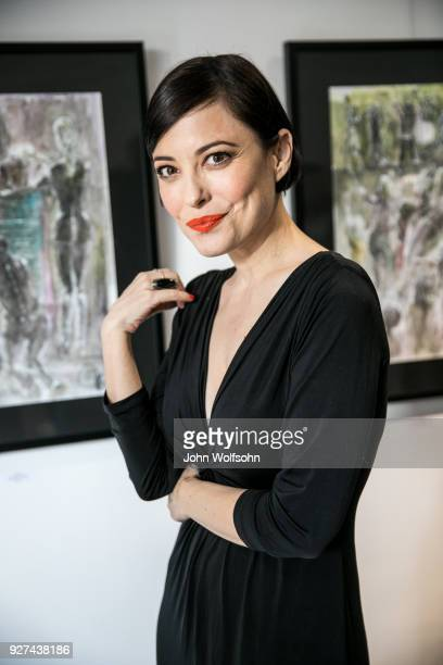 Kate Kelton attends The Launch of Chuck D's first solo art exhibition at Gallery 30 South on March 4 2018 in Pasadena California