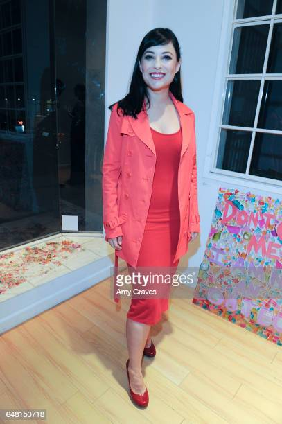 Kate Kelton attends the Opening Reception of The Female Gaze on March 4 2017 in Los Angeles California ***Kate Kelton