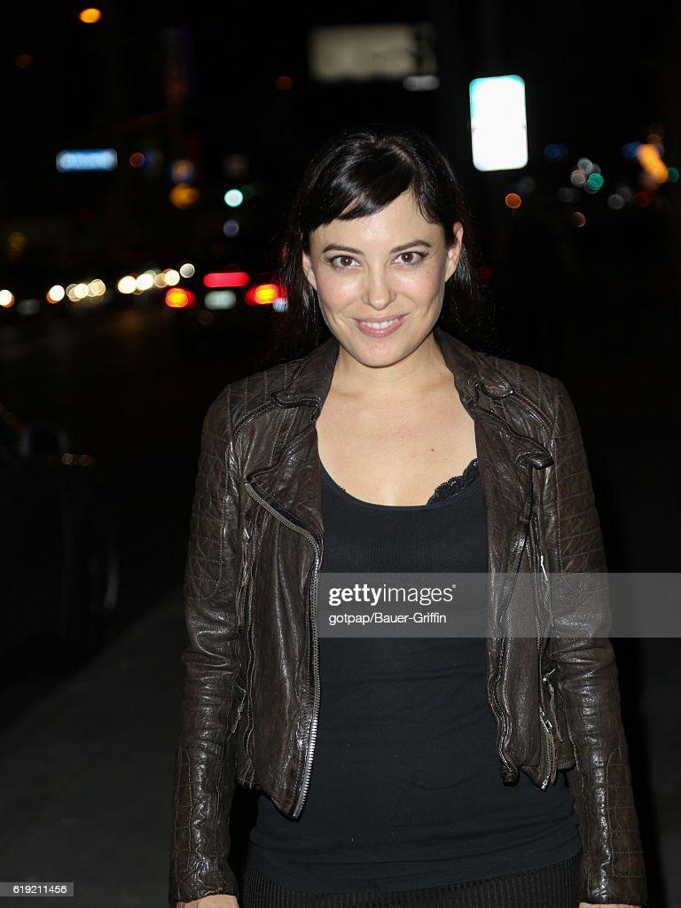 Celebrity Sightings In Los Angeles - October 29, 2016 : Nachrichtenfoto