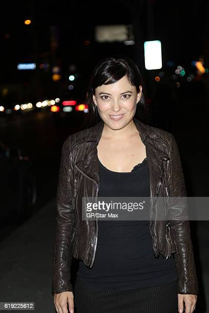 Kate Kelton is seen on October 29 2016 in Los Angeles