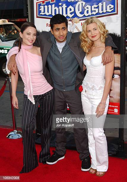 Kate Kelton John Cho and Brooke D'Orsay during Harold Kumar Go To White Castle Los Angeles Premiere Arrivals at The Mann Chinese Theatre in Hollywood...